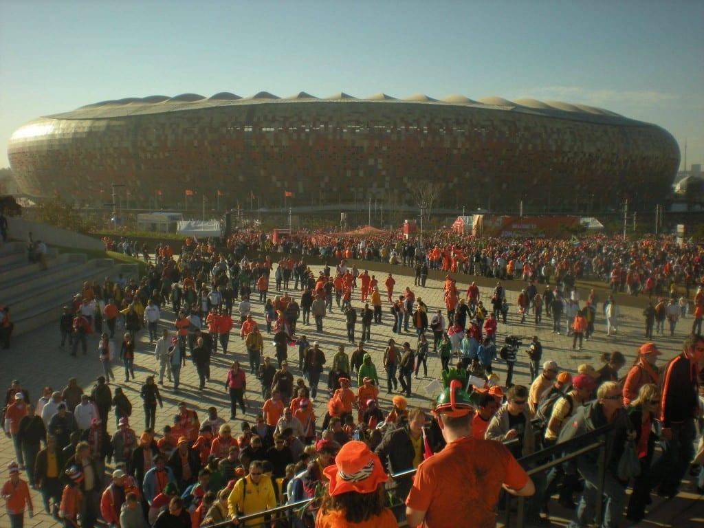 Sydafrika - Stadion, Soccer City, Johannesburg - rejser