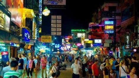 Thailand - Bangkok, Khao San Road - rejser
