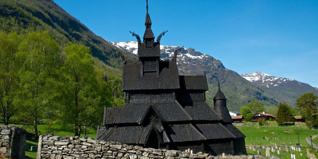 Borgund Stavkirke-laerdal-norge