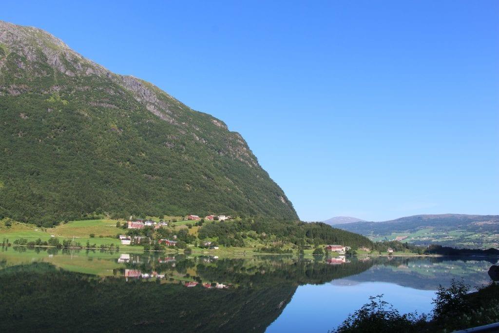 Lustrafjorden Norge - rejser