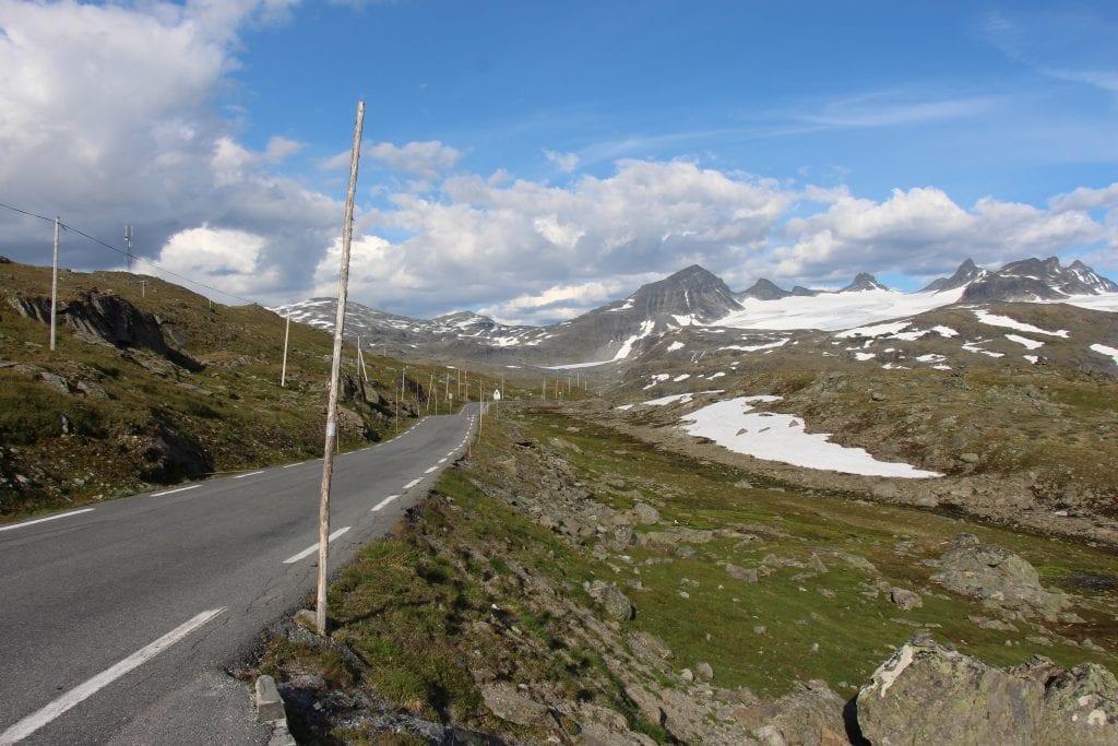 Norge Rute55 Jotunheimen nationalpark - rejser - snevejvisere