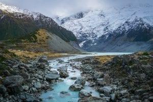 New Zealand - flod og bjerge - rejser