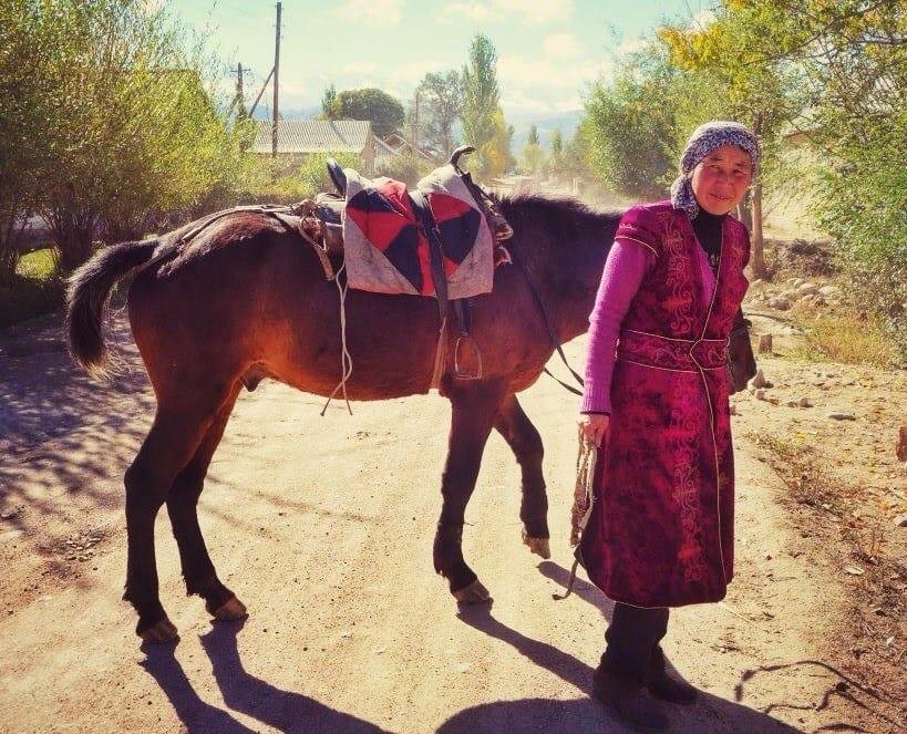 Kirgisistan - hest - rejser