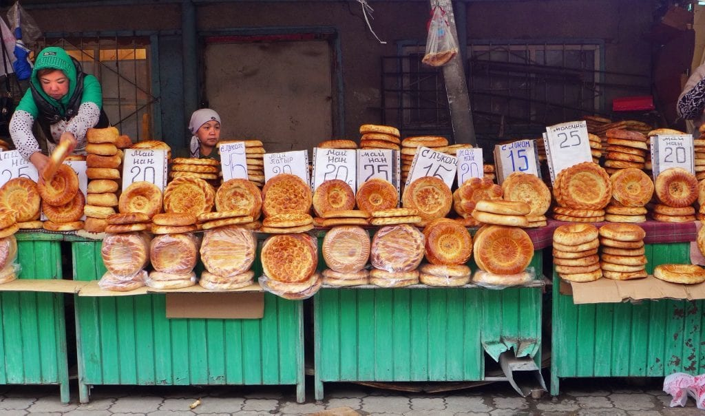 Kirgisistan - brød, Bisjkek - rejser