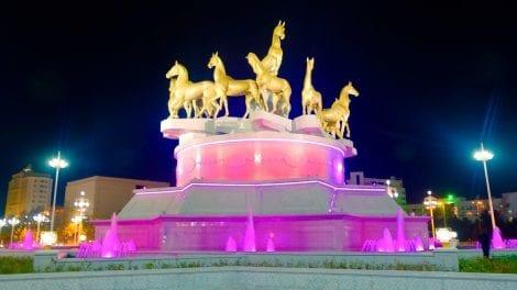 Turkmenistan - springvand - rejser