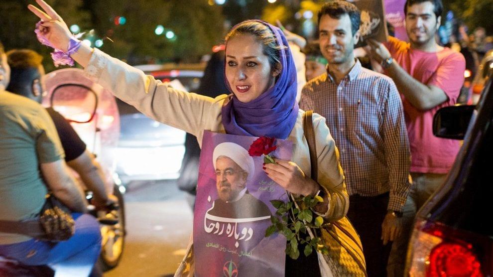 Iran - Shiraz valgkamp