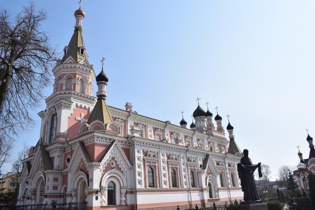 Hviderusland - Grodno, katedral - rejser