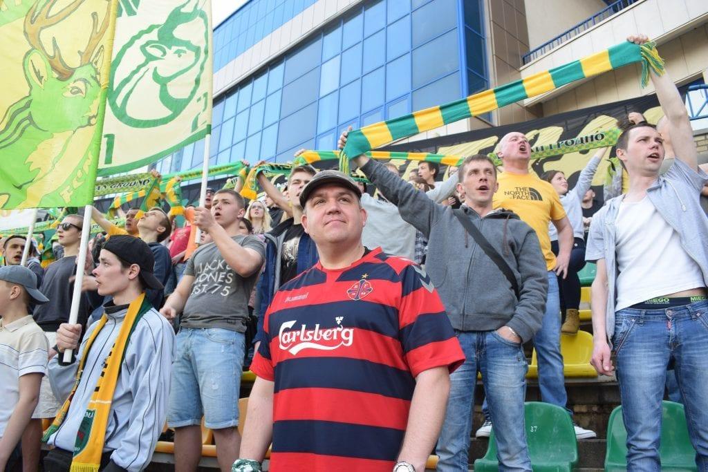 Hviderusland - Grodno, fodbold, fans - rejser