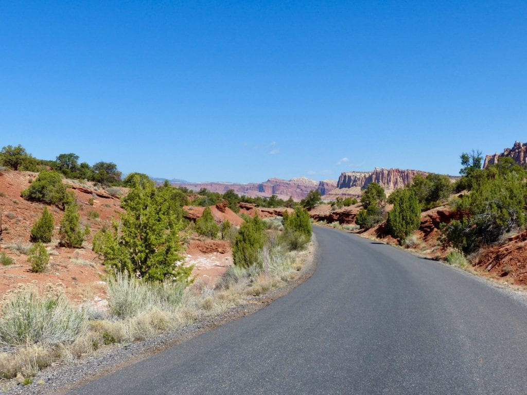 USA - Scenic Drive, Capitol Reef - rejser