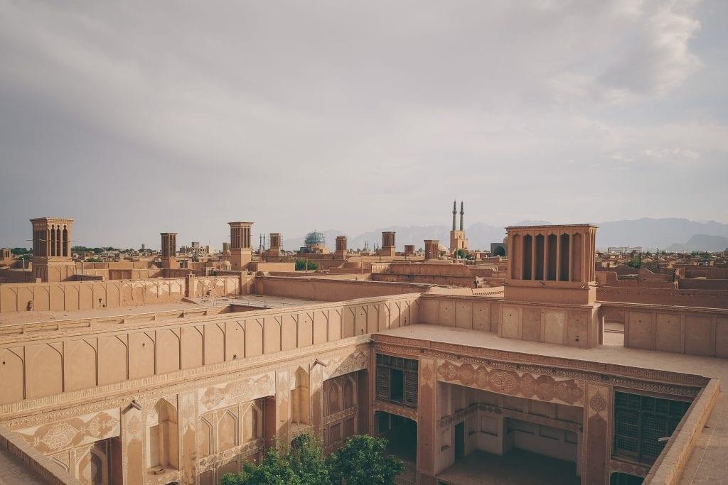 Iran yazd hotel qanat - rejser
