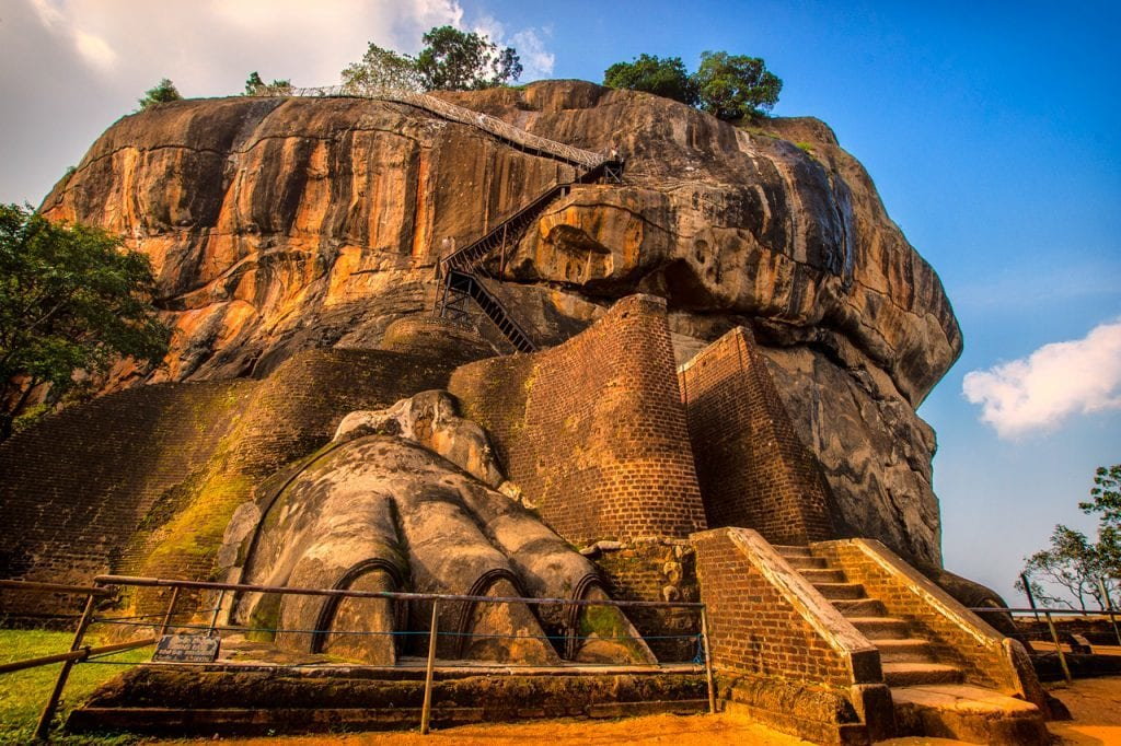 Sri Lanka - Sigiriya-Rock-Fortress- rejser
