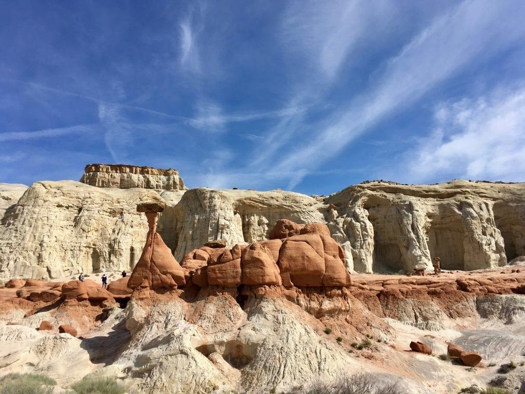 USA - Toadstool, himmel - rejser
