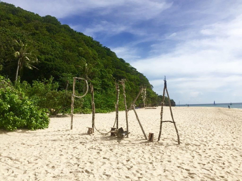 Filippinerne - Boracay, Puka, strand - rejser