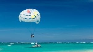 Dominikanske Republik - Punta Cana, parasailing - rejser