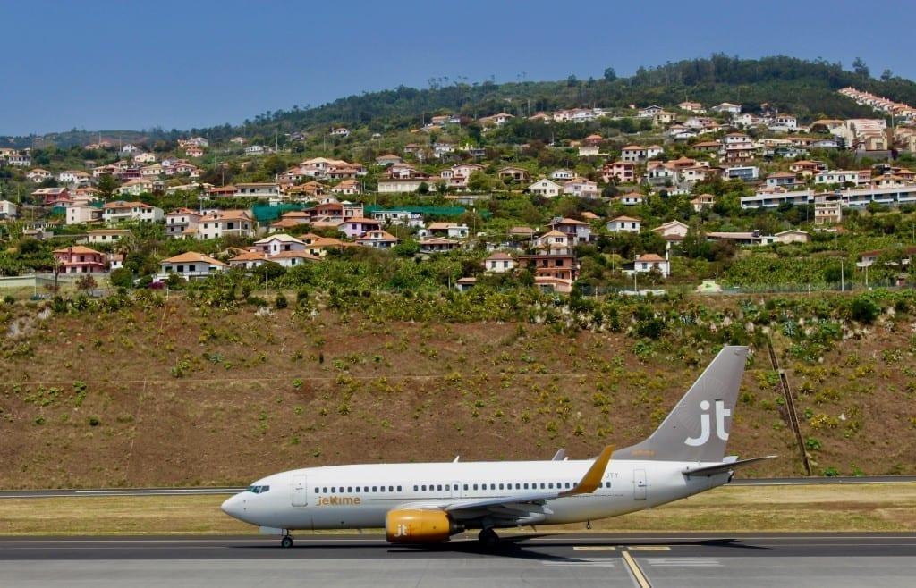 Portugal - Madeira, lufthavn - rejser