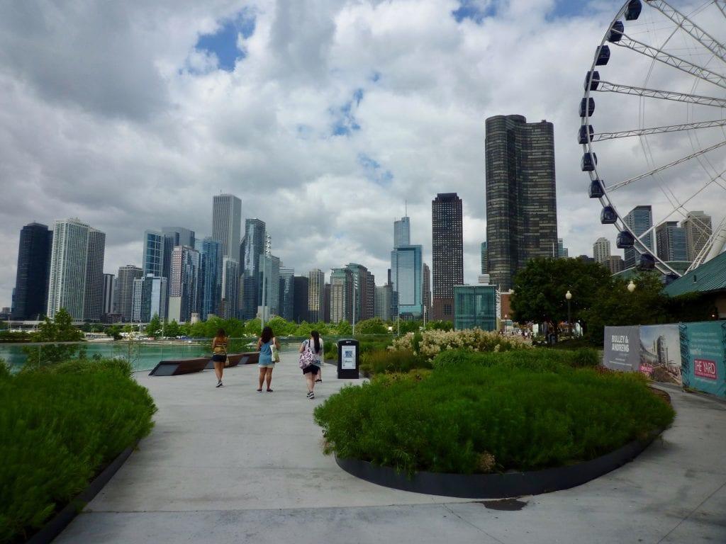 USA - Chicago, Navy Pier - rejser