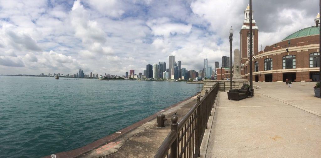 USA - Chicago, skyline fra Navy Pier - rejser