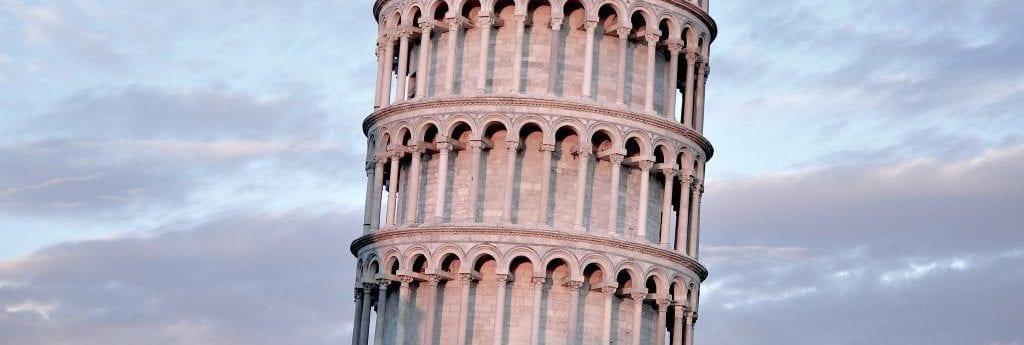 Italien - Pisa, det skæve tårn - rejser