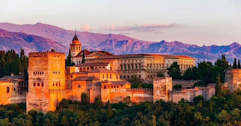 Spanien - Granada slot - rejser