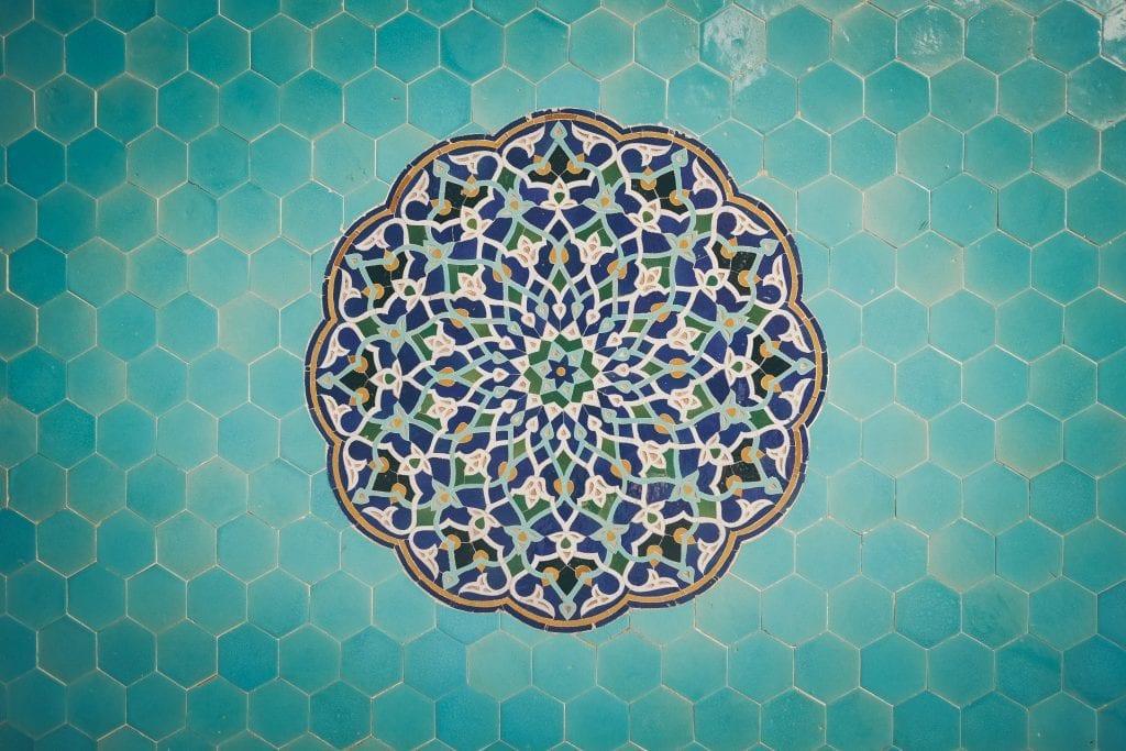 Iran - kunst - rejse