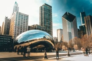USA - Chicago, The Bean - rejser