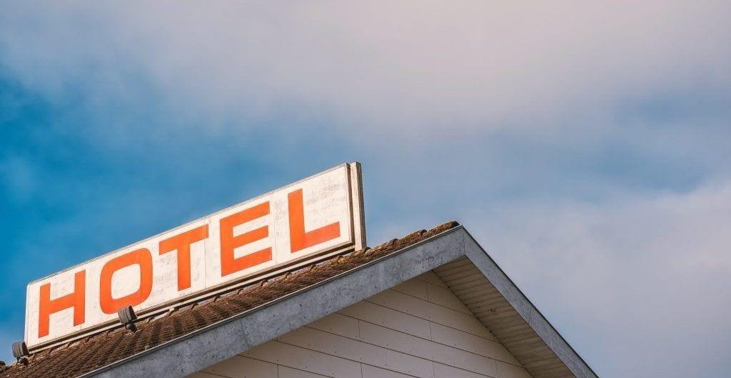 Hotel - skilt - rejser