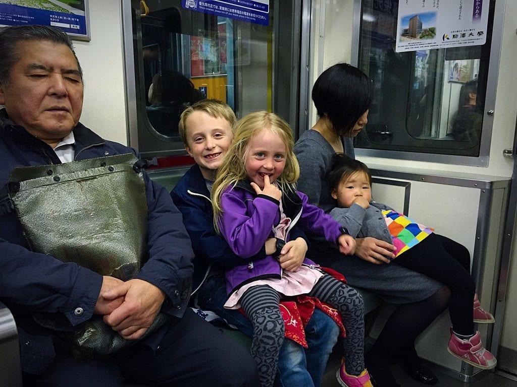 Japan - børn - rejser