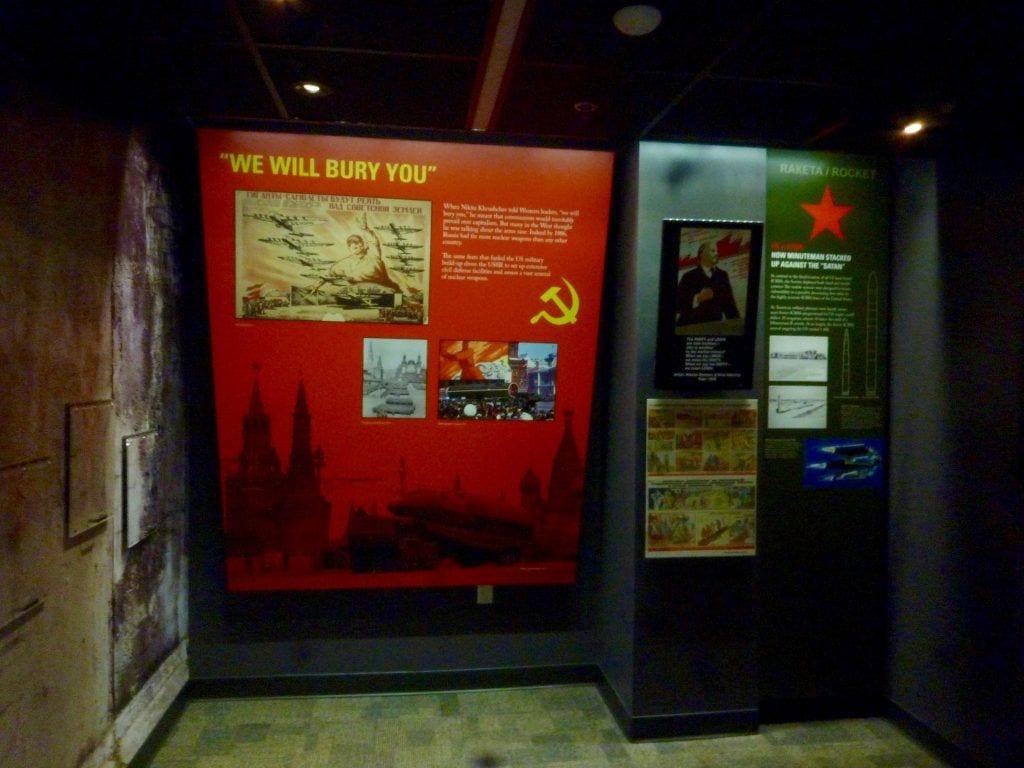 USA - South Dakota, Minuteman, Propaganda - rejser