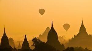 Myanar - Bagan, solopgang - rejser