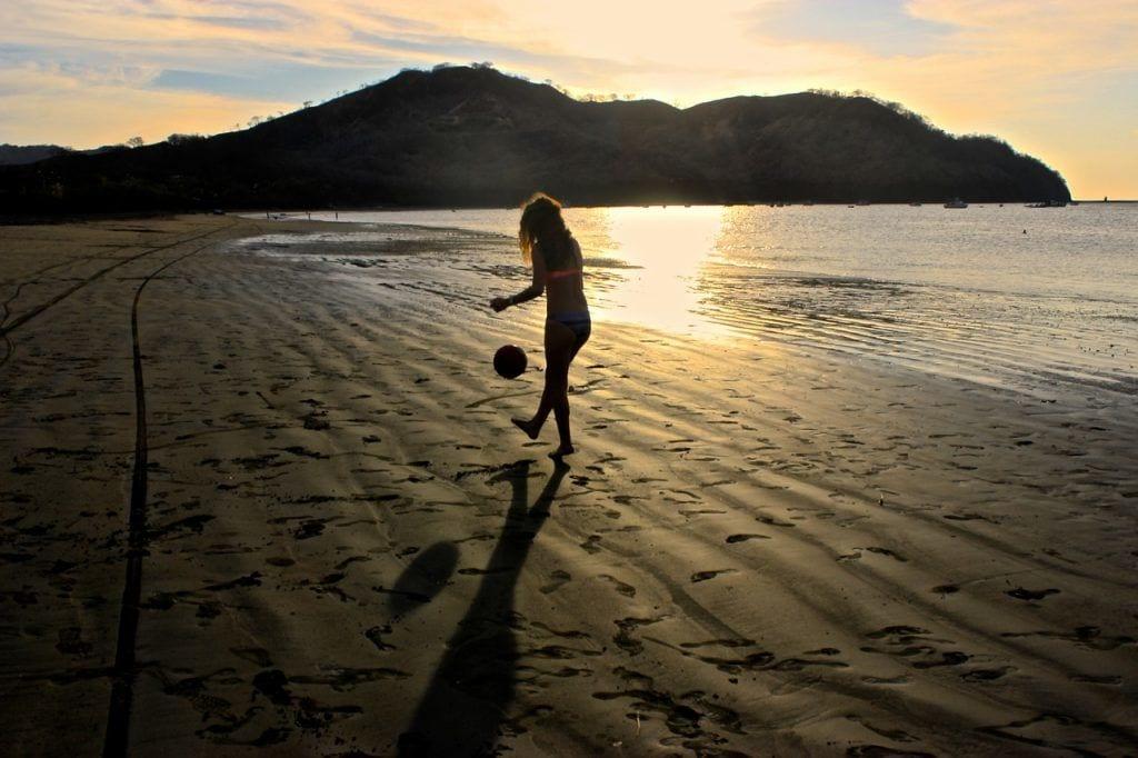 Costa Rica - strand, solnedgang - rejser