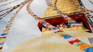Nepal - Kathmandu, stupa - rejser
