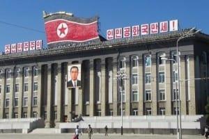 Nordkorea - Pyongyang, Kim Il Sung pladsen - rejser