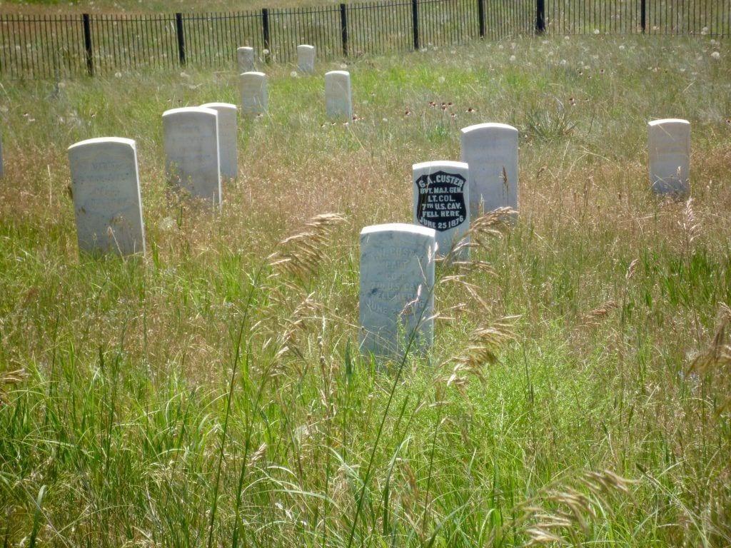 USA - Custers grav i Little Big Horn - rejser