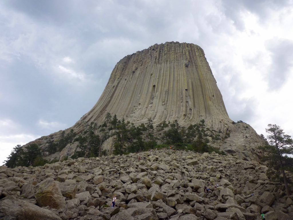 USA - Wyoming, Devils Tower og bjørnehistorien - rejser