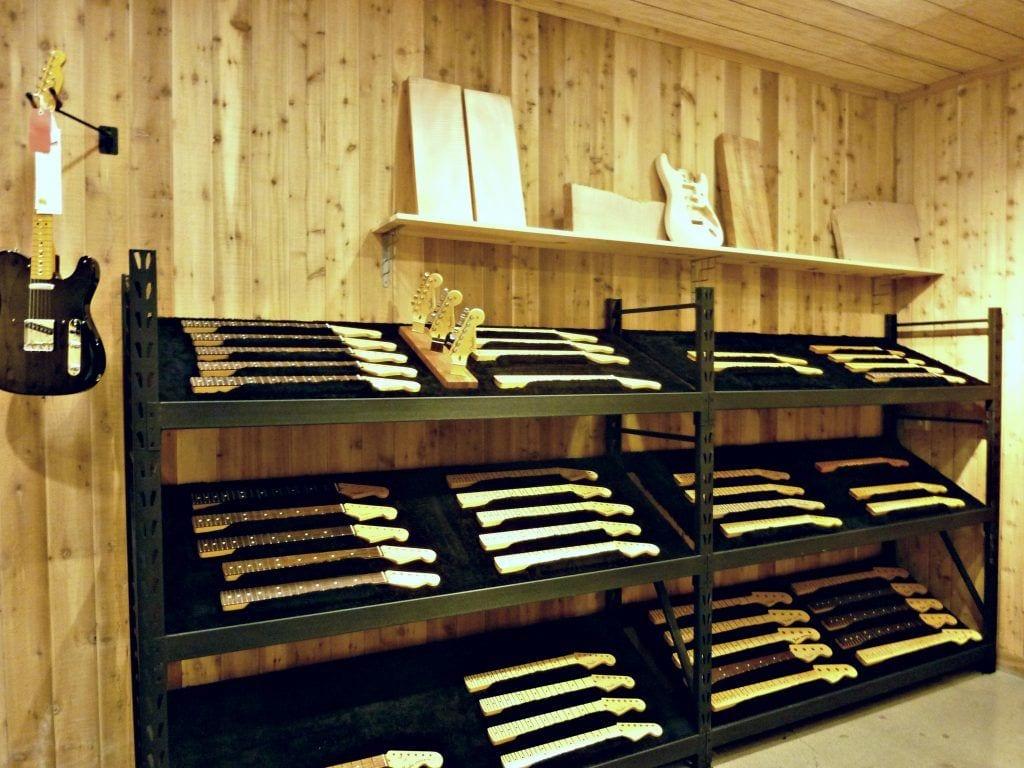 USA - Fenderfabrik - byg selv