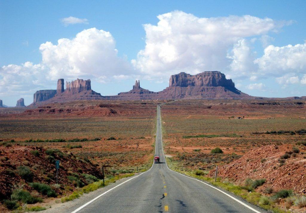 USA - Arizona, Monument Valley i Navajo reservatet - rejser