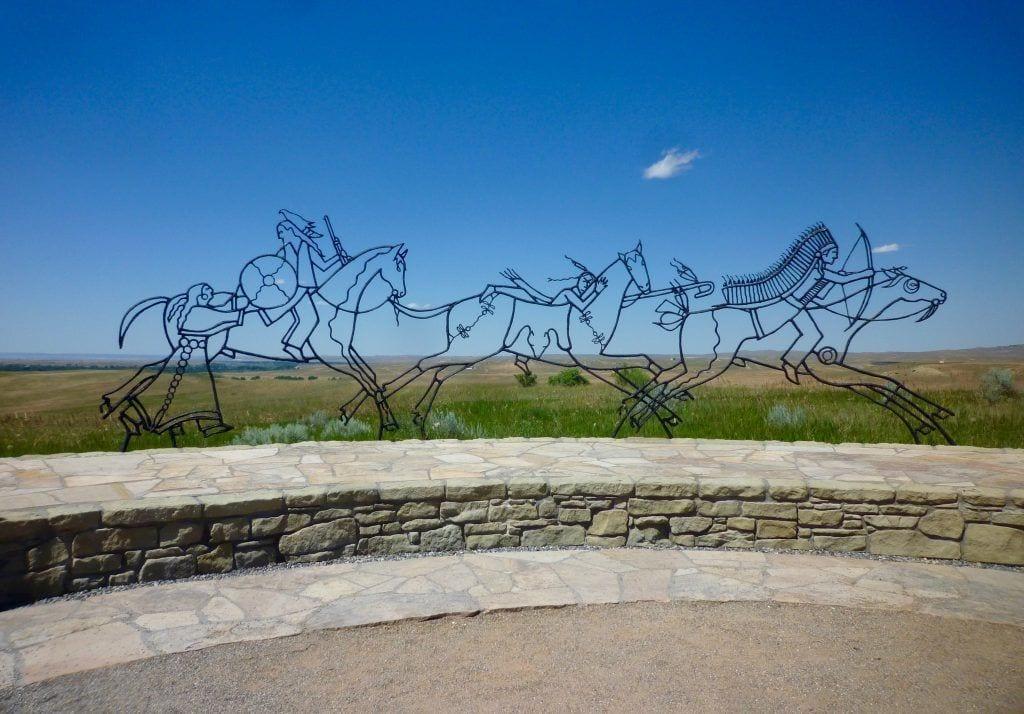 USA - Monument i Litte Big Horn Battlefield - rejser