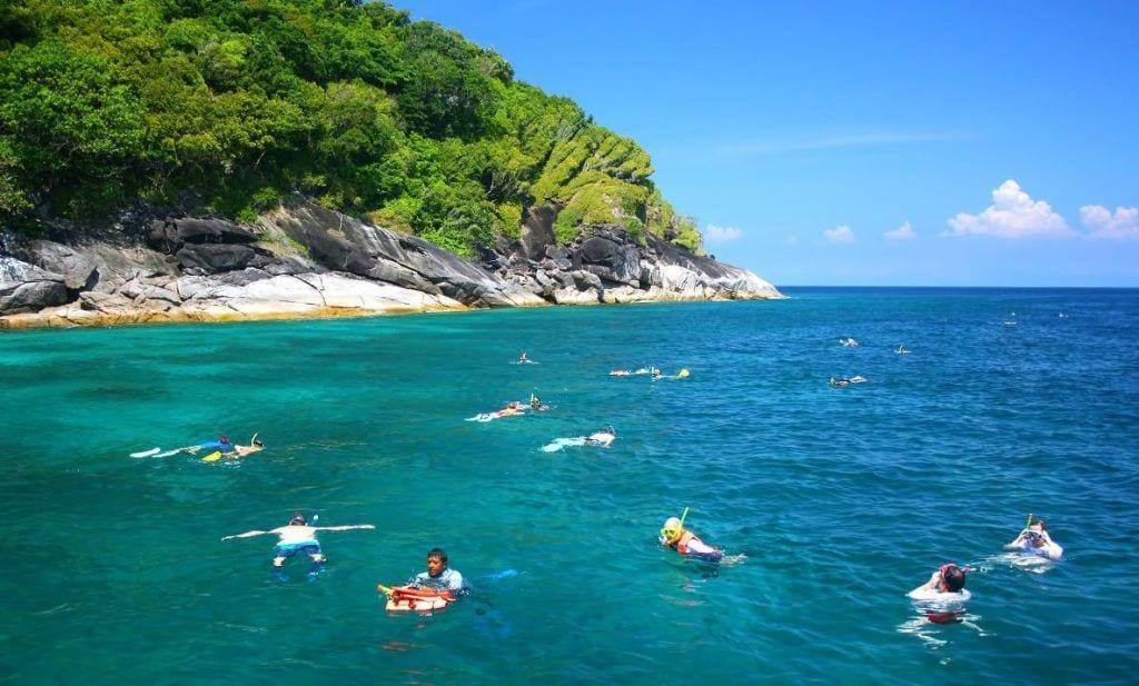 Koh Surin - Thailand - find de bedste øer til rejsen i Thailand