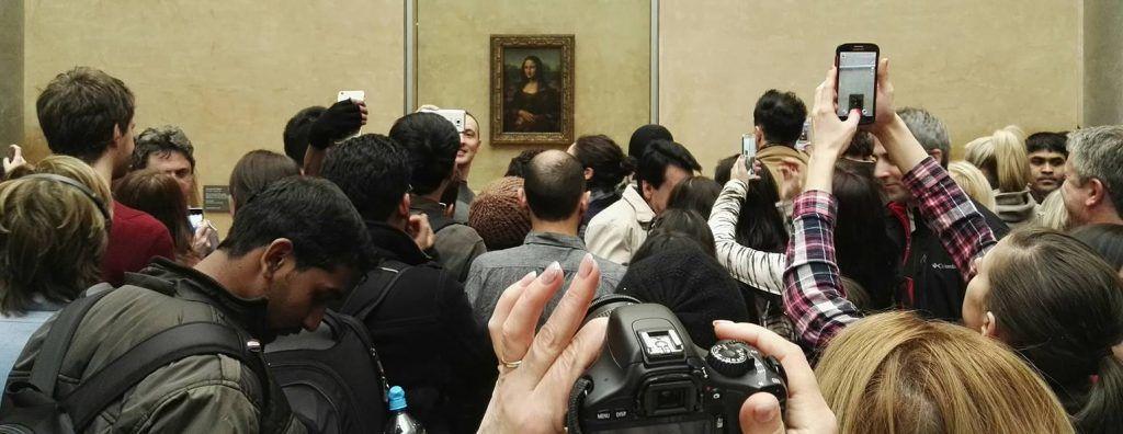 Frankrig - Paris, Louvre, Mona Lisa - rejser