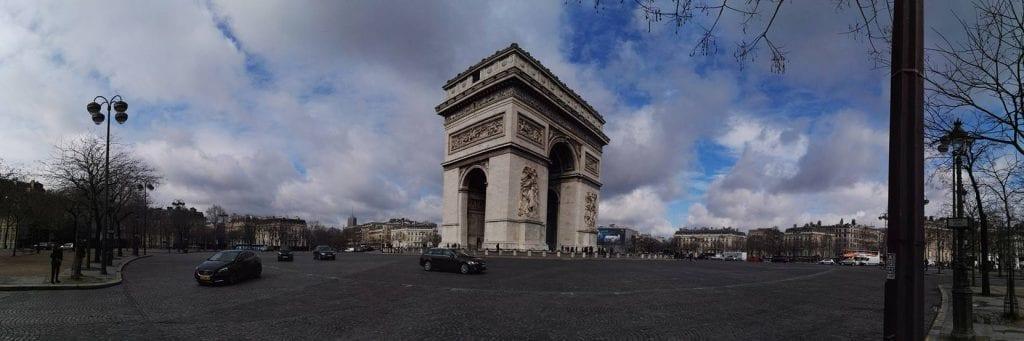 Frankrig - Paris, Triumfbuen - rejser