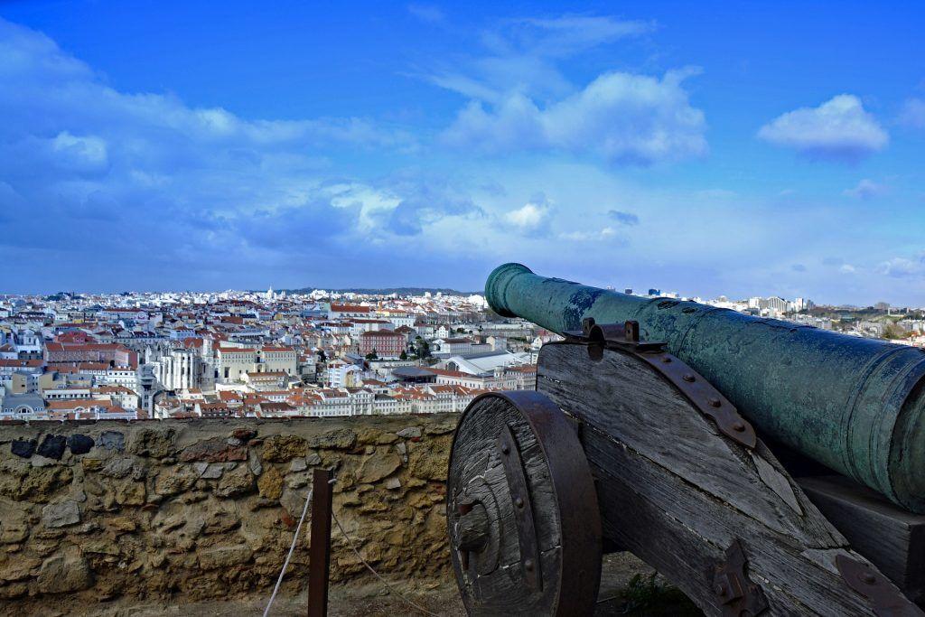 Lissabons syv bakker (Udsigt fra São Jorge)