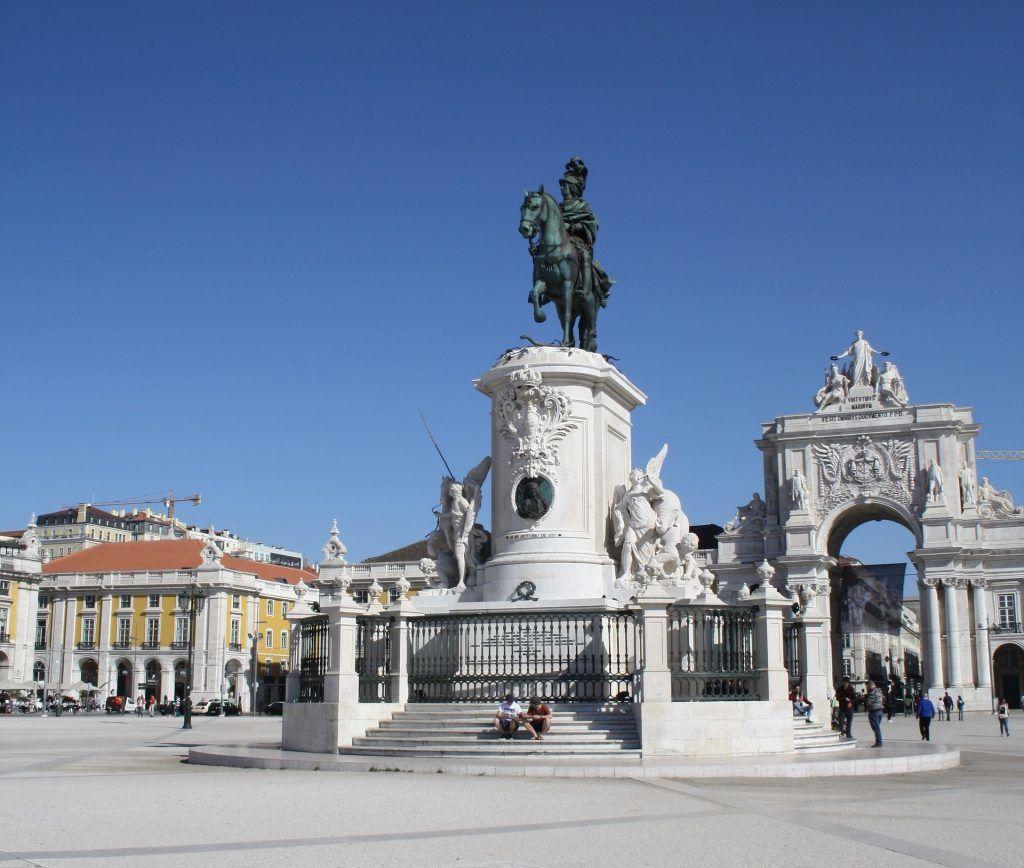 Lissabons torve og pladser (Praça do Comércio)