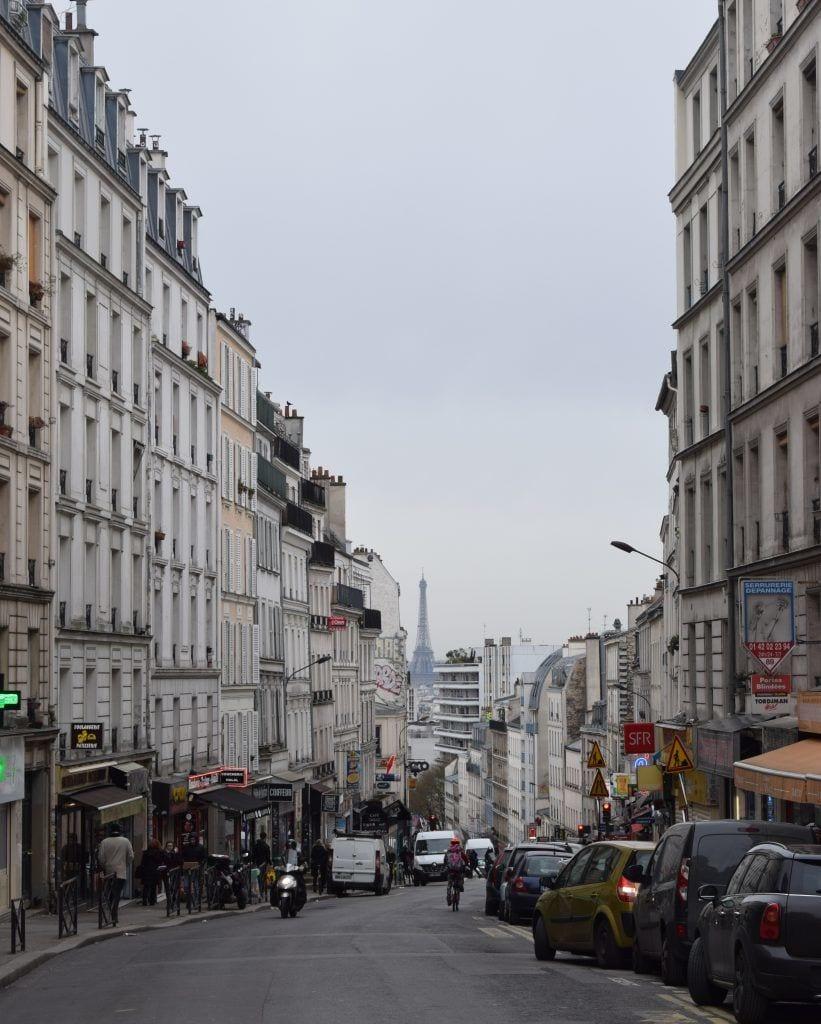 Frankrig - Paris, Rue de Belleville - rejser