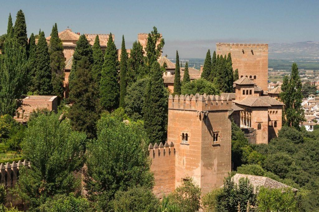 Málaga - alhambra