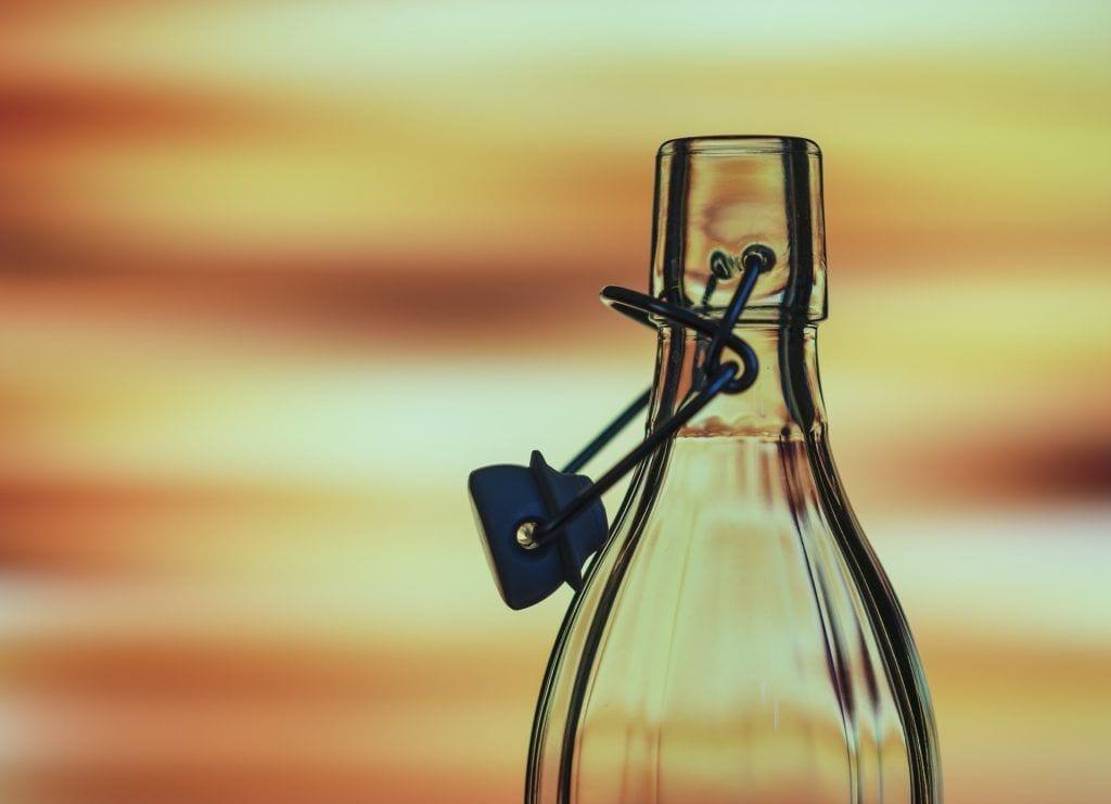 Vandflaske - rejse miljøvenligt