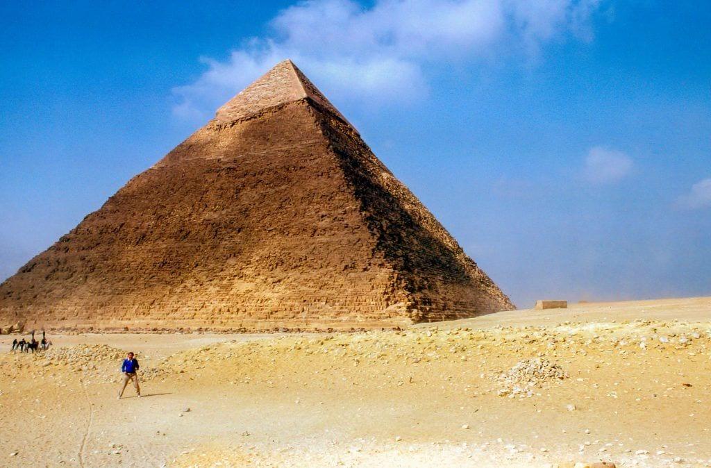 Pyramide - egypten