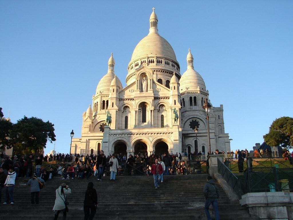 Frankrig - Paris, Sacré Coeur - rejser