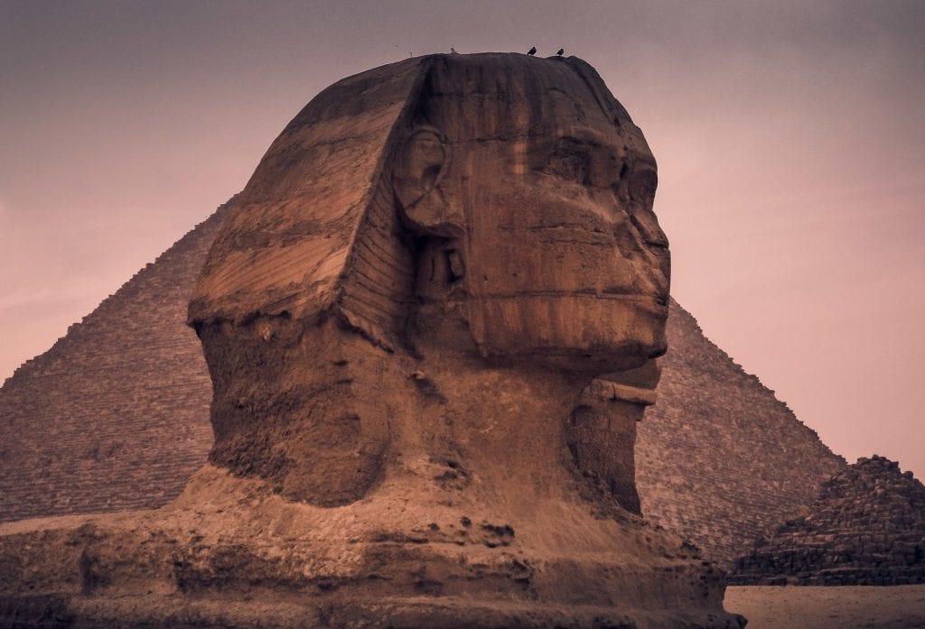 Egypten - sphinx - rejser