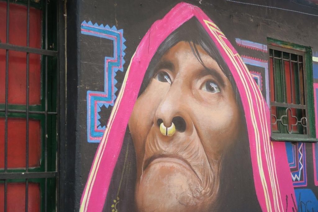 Colombia - Bogota - street art -rejser