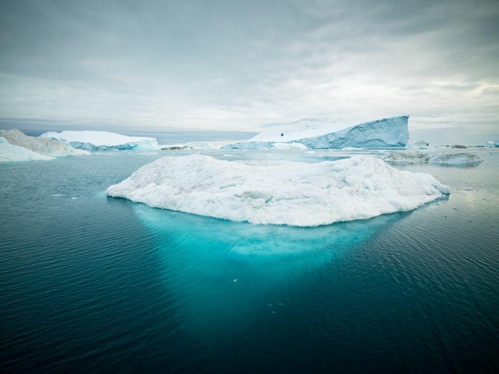 Grønland - isbjerg - rejser